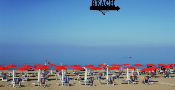 Spiaggia del Lido Erica di Baia Domizia