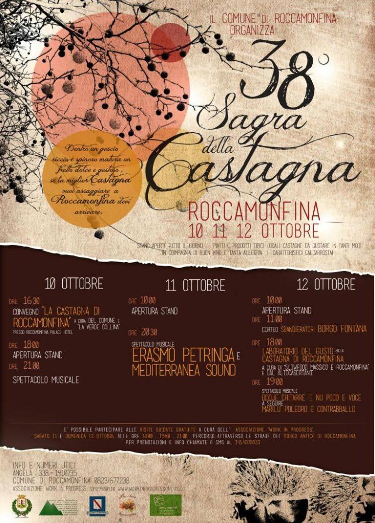 sagra della castanga roccamonfina 2014