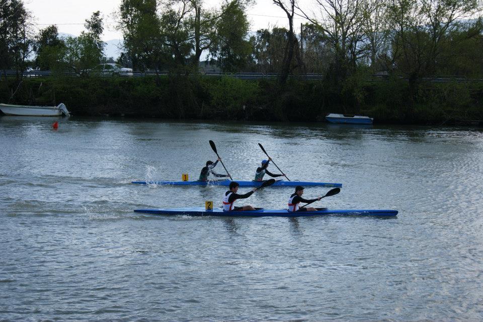Gara regionale Kayak