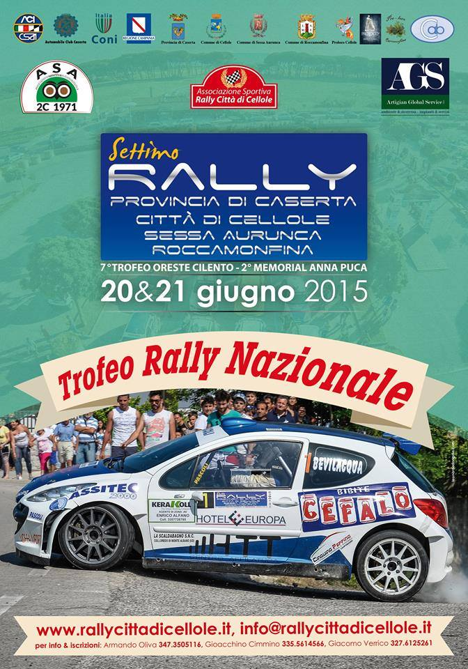 7° Rally Città di Cellole